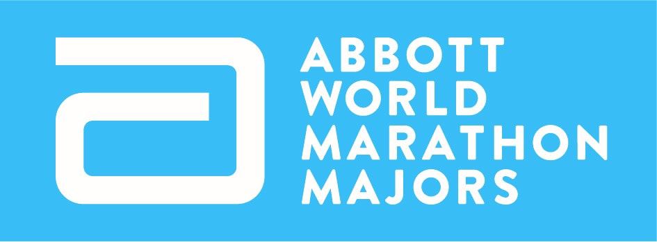 Logo de ABBOT, World Marathon Majors